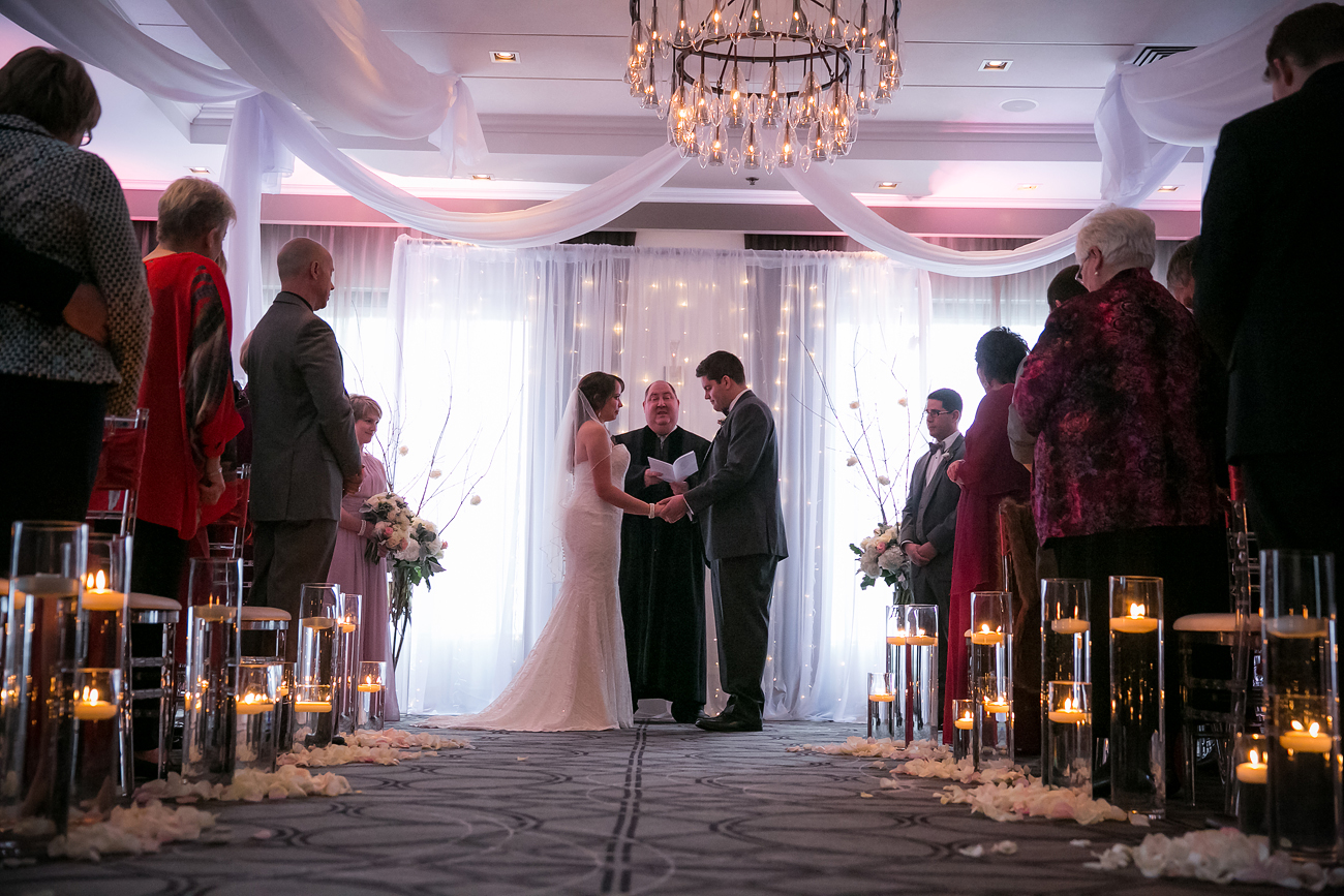 A Super Romantic Wedding At The Prince George Hotel